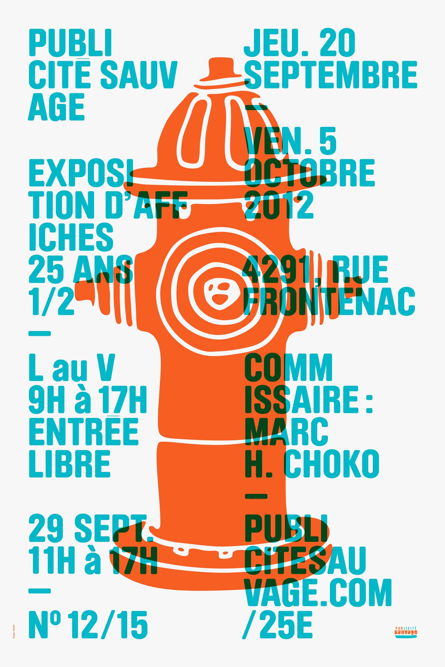Publicité Sauvage 25th Anniversary