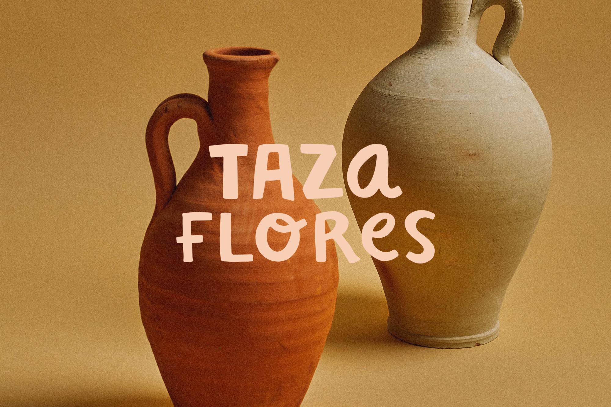 Taza Flores